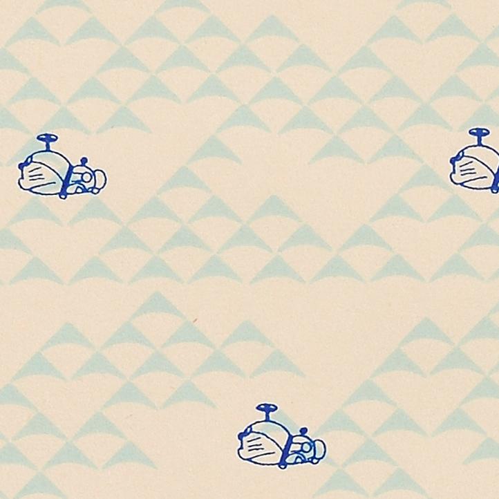 和紙【ドラえもん空のお散歩_水色】