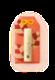 福福リップ 【紅葉赤橙】