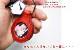 本革 フォトフレーム・キーホルダー【栃木オイルレザー】 / レザー キーホルダー 写真入れ フォトフレーム / 日本製 手作り / 本革 高級 ヌメ革 フルタンニン 栃木レザー / おしゃれ かわいい モダン シンプル ビジネス用  ギフト 贈り物
