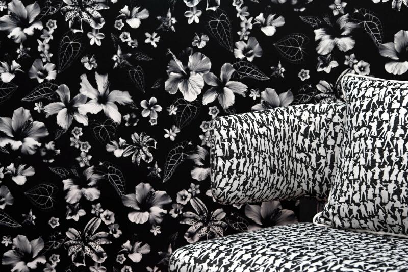 Silhouettes Fuchsia (3492-05)