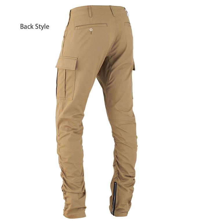 GLADIATOR グラディエーター  G7015 クロスオーバー裾ジッパーカーゴパンツメンズ レディース Gカーゴ ストレッチ作業服 作業着 ズボン