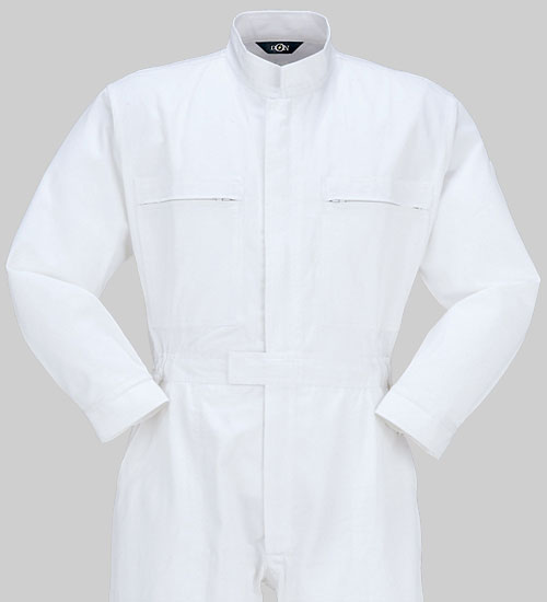 10 つなぎ服 綿100%   作業服 作業着