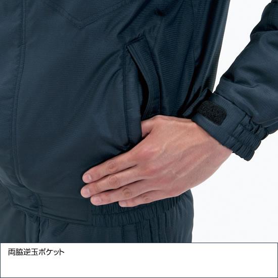 7210 男女兼用防寒ブルゾン 大型フード付  秋冬用  作業服 作業着 BURTLE バートル