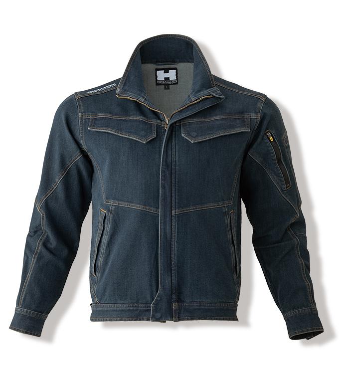 HUMMER ハマー 363-4 Wストレッチ長袖ブルゾン オールシーズン用 メンズ 作業服 作業着 ジャンパー ジャケット