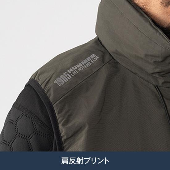 HUMMER ハマー 950-0 撥水防風ベストメンズ  作業服 作業着