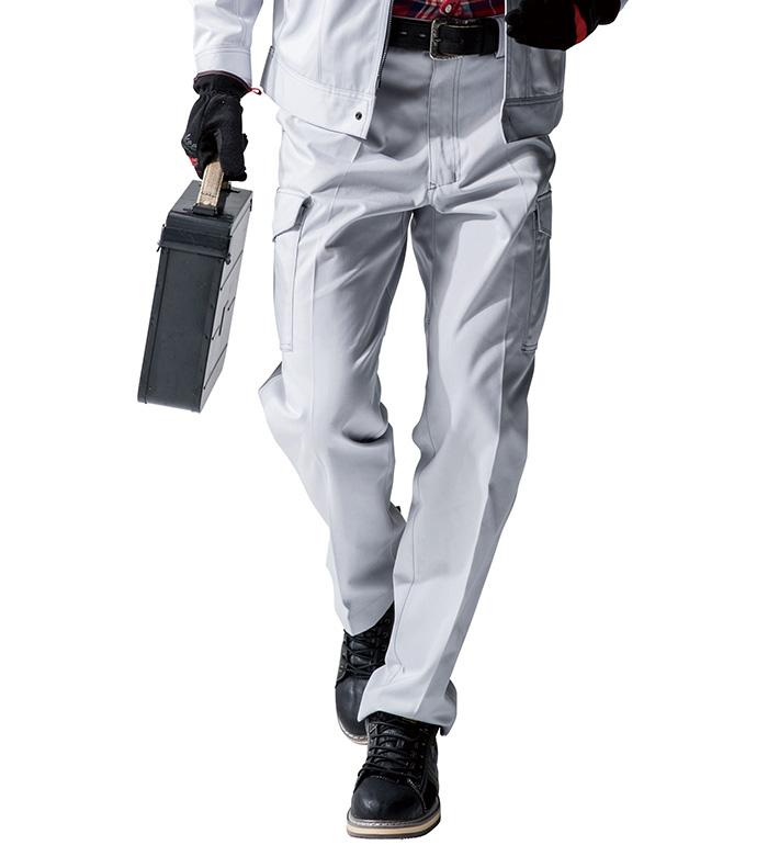 A4175 ノータックカーゴパンツ 秋冬用  ANDARE SCHIETTI アンドレ スケッティ 作業服 作業着 ズボン