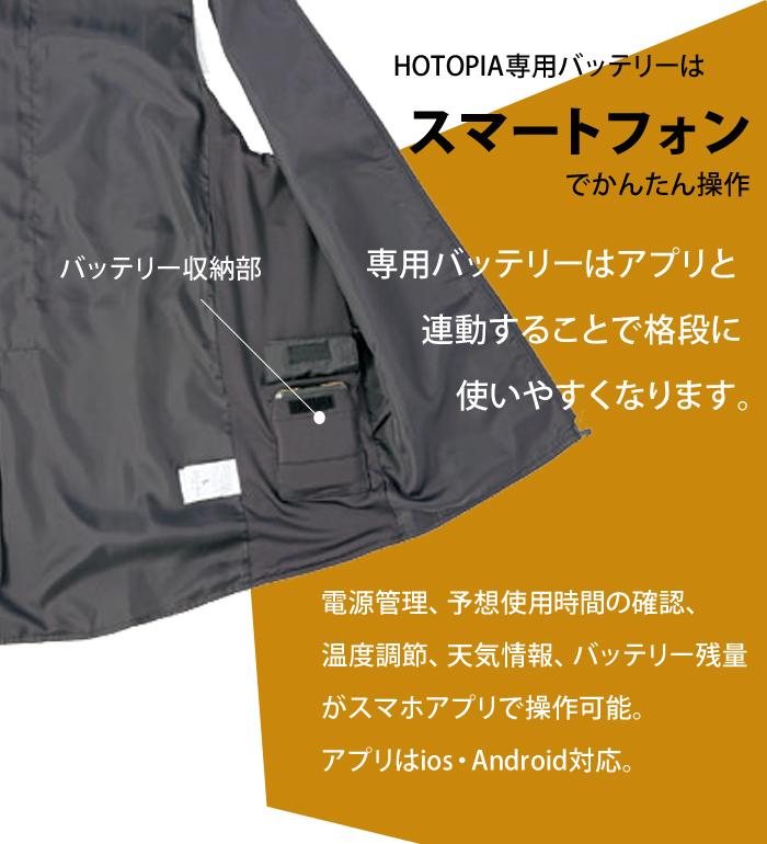 HOTOPIA ホットピア AZ8304 防寒シートメンズ レディース 洗える ヒーター機能