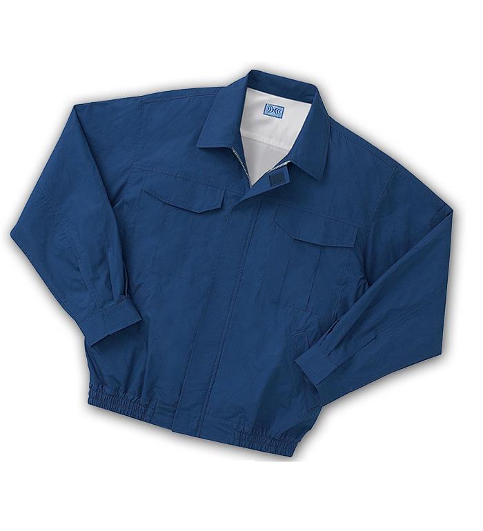 空調風神服 KU90600 長袖ワークブルゾン 綿100%厚生地 春夏用   バッテリー ファン コードは別売り