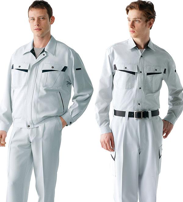 82000 長袖製品制電ストレッチブルゾン 秋冬用  作業服 作業着  自重堂