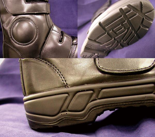 コーコス信岡  ワークギア ZA819半長靴マジック安全靴 セーフティーシューズ