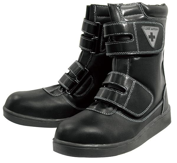 コーコス信岡  ワークギア ZA839舗装職人 半長靴マジック安全靴 セーフティーシューズ