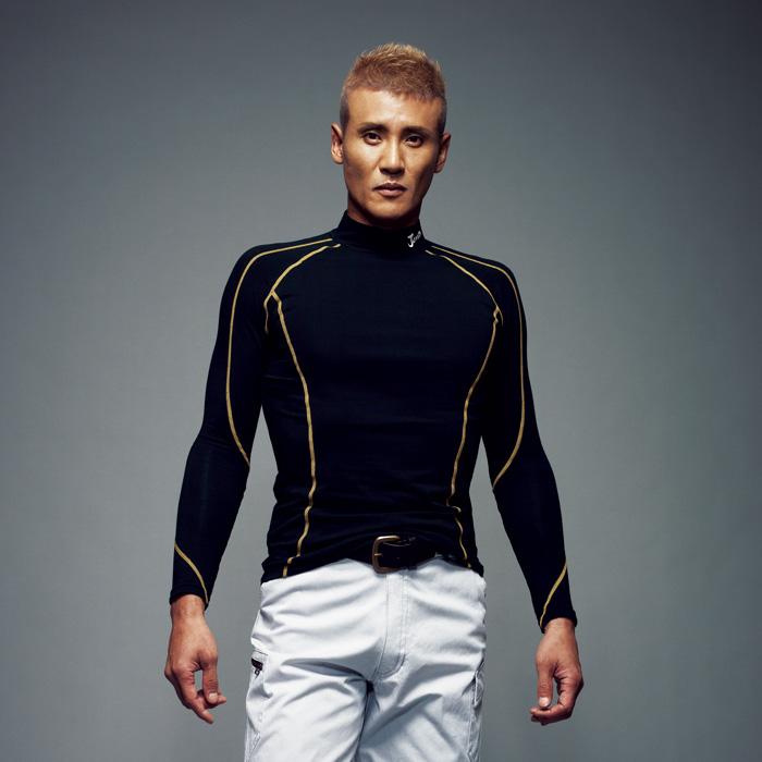JAWIN ジャウィン  自重堂 52024 ハイネックロングスリーブ 作業服 作業着  メンズ アンダーシャツ アンダーウェア