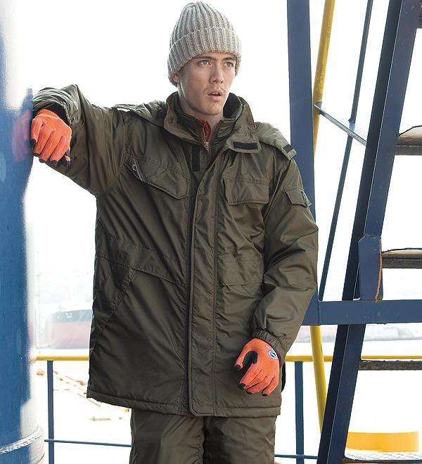 サンエス AG31121 防水防寒コート  作業服 作業着