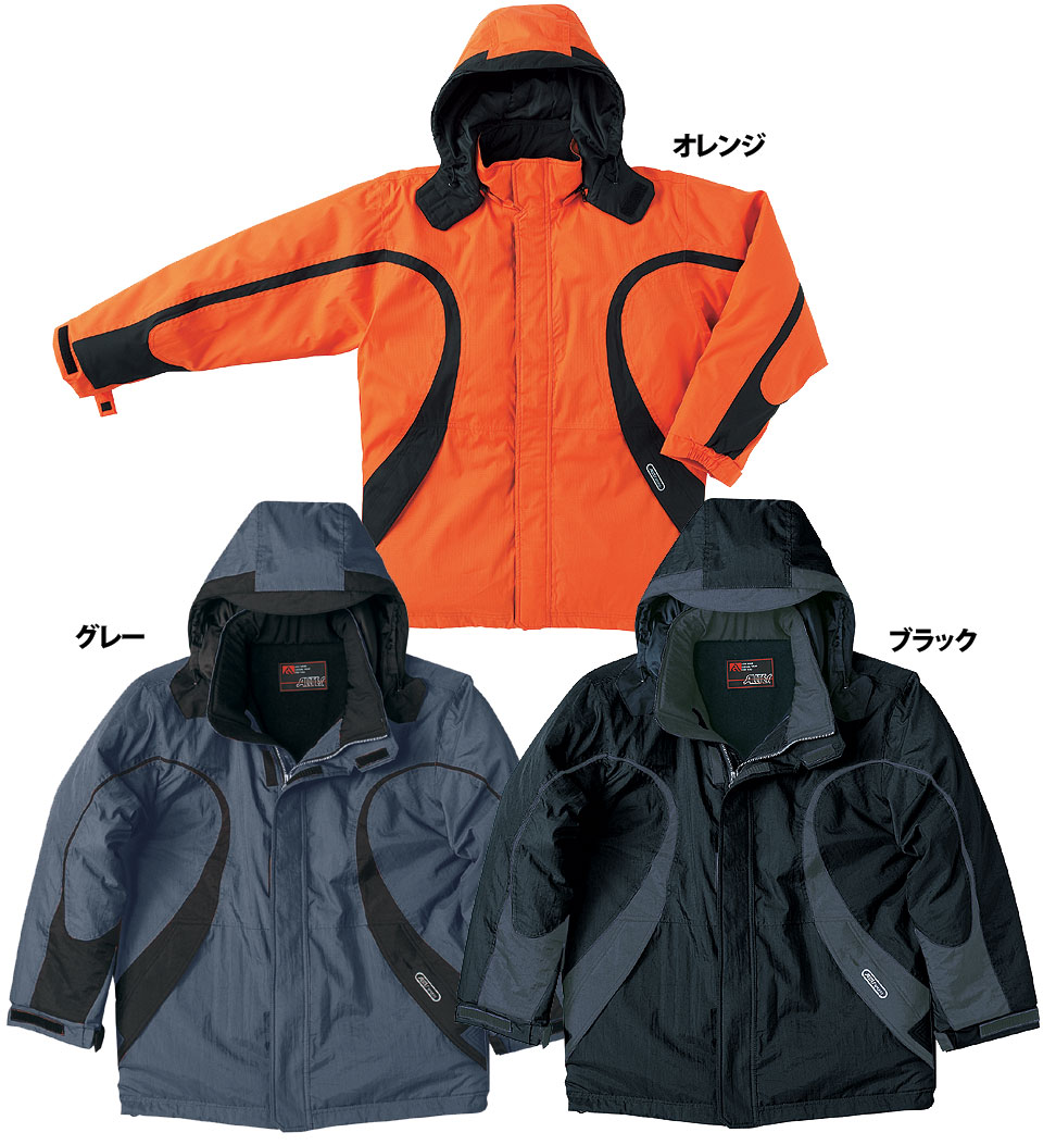 中塚被服 AT717 透湿防水防寒コート