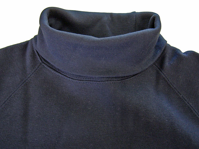 98054 裏起毛タートルネックシャツ 自重堂