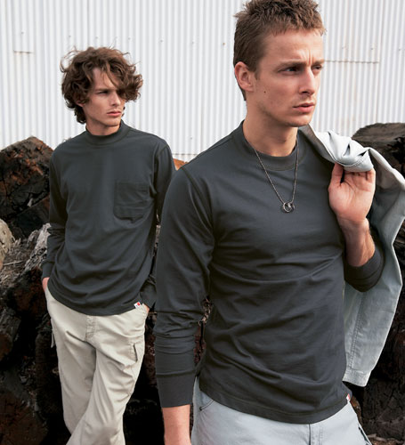 JAWIN ジャウィン  自重堂 55304 長袖Tシャツ 作業服 作業着