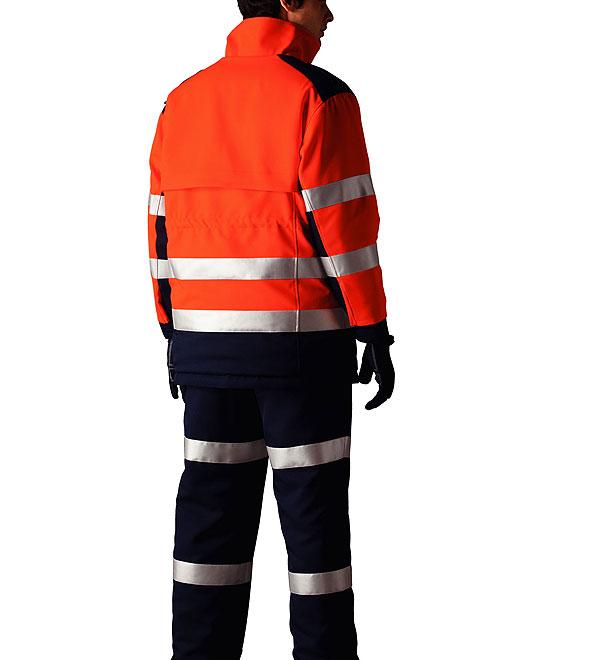 最高レベル反射材付き高視認性防寒コート  ナイトナイト NIGHT KNIGHT 作業服 作業着 防寒着  タカヤ商事