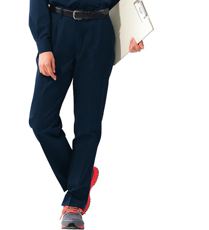 XEBEC ジーベック  1697 レディースパンツ 春夏用 レディース 作業服 作業着 ズボン スラックス