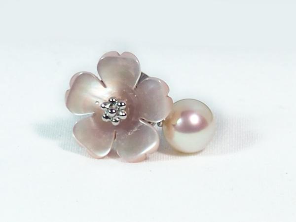 あこや真珠 ピンブローチ<7.7mm> A-1368