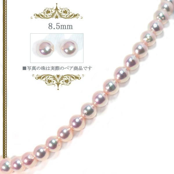 2点セットあこや真珠ネックレス<8.5mm>NE-2338