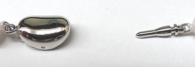 花珠真珠あこや真珠ネックレスパールネックレス<7.5〜8mm>アコヤ真珠 鑑別書付 N-11060
