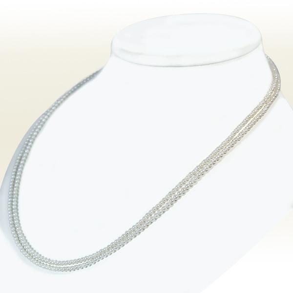 ベビーパールロングネックレス <2.5〜3mm> (108cm) N-11392