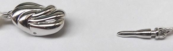 オーロラ天女 花珠真珠2点セット<8mm>鑑別書付 NE-2155