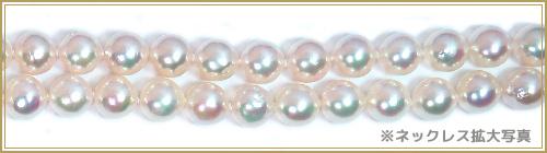 あこや真珠 ロングネックレス (121cm)<8〜8.5mm> N-11899
