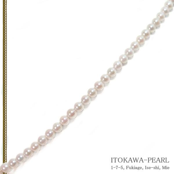 あこや真珠 ベビーパールネックレス<3.5〜4mm>アジャスター・K18YG N-12301