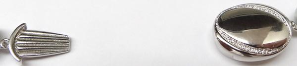 グレー系(ナチュラルカラー)厚巻良質 あこや真珠ネックレス<9.5〜10mm> 鑑別書付 N-8829