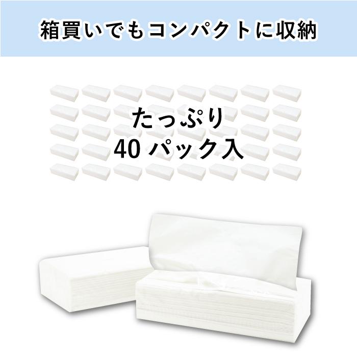 イットコ詰め替えティッシュ 200組 40個入 20200003[◇]
