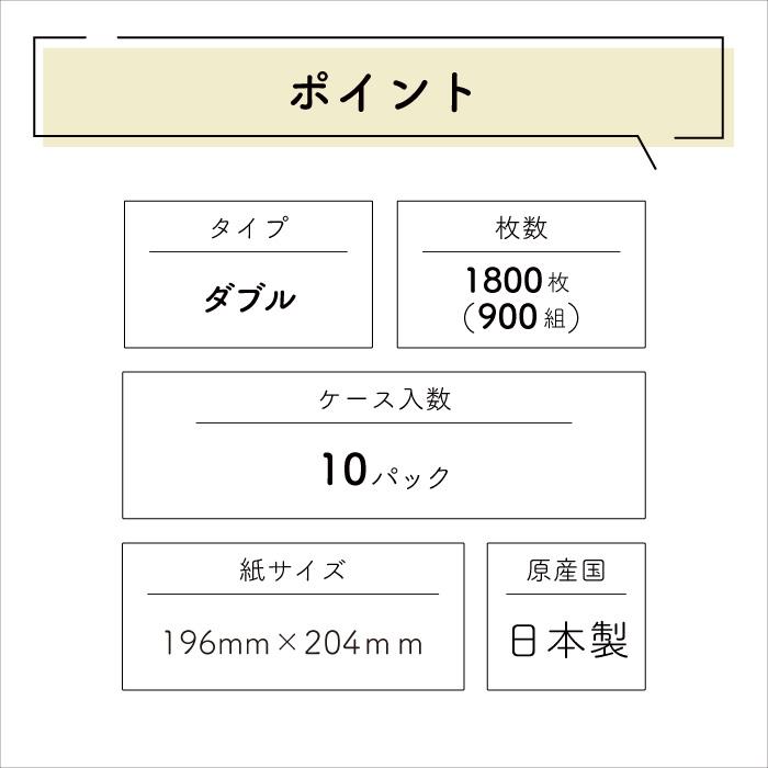 イットコ詰め替えティッシュ 900組 10個入 20900002[◇]【re】