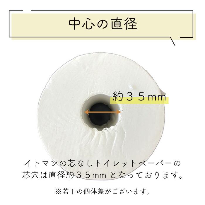イッポ 1ロール 150m シングル 無包装 芯なし 48個 10150022[◇]【re】