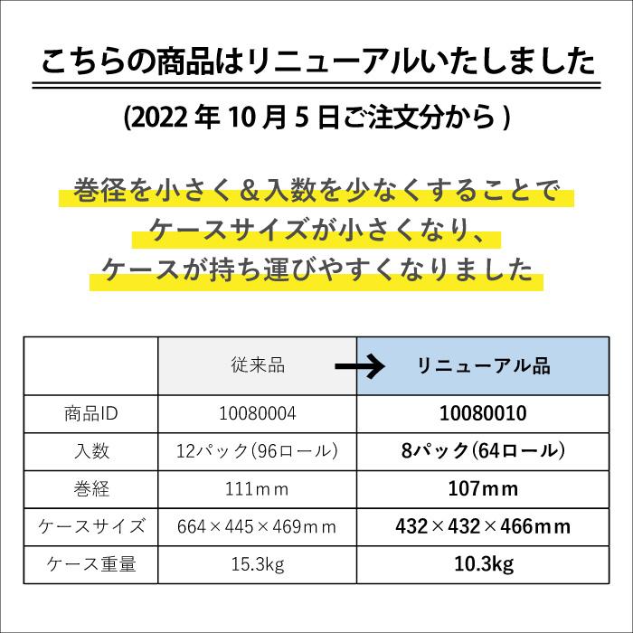 モナリス 8ロール 45m ダブル ミシン目 8パック 新生活 1009028[◇]