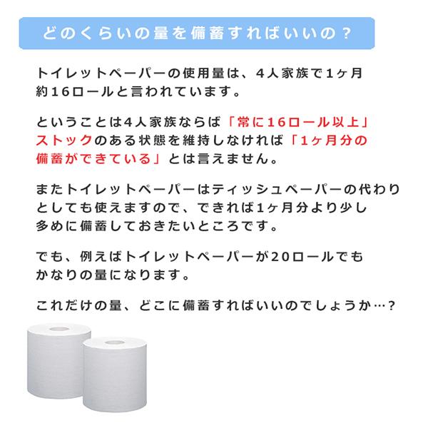 緊急備蓄 トイレットペーパー 250m 24個 シングル 芯なし 10250003[◇]