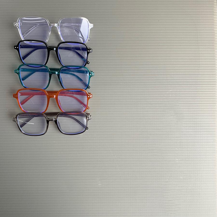 【即納商品】 KIDS-カラー細フレーム伊達メガネ