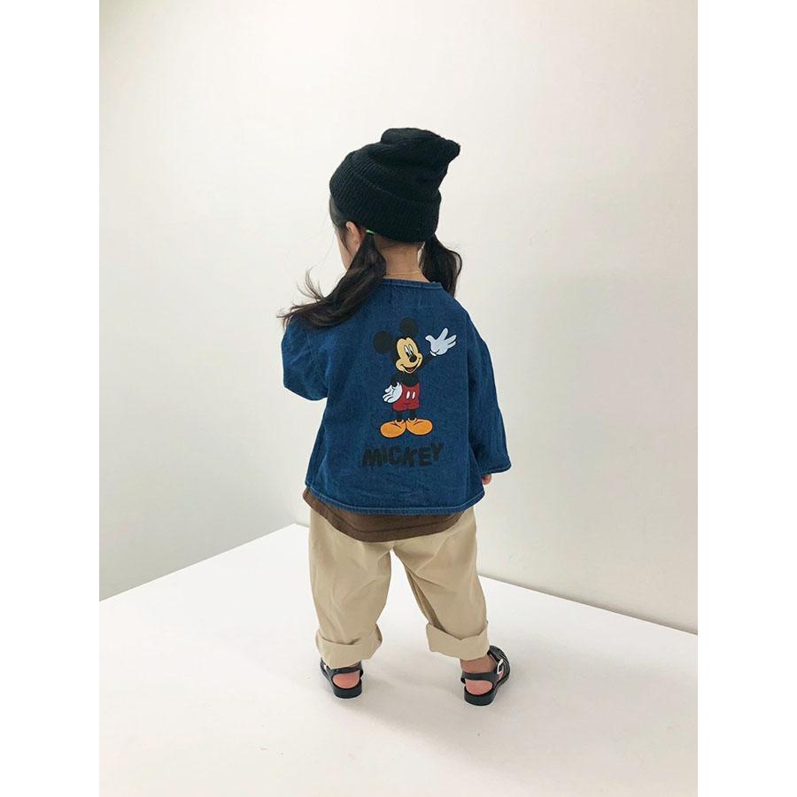 Disney ミッキーデニムジャケット【MORAN】