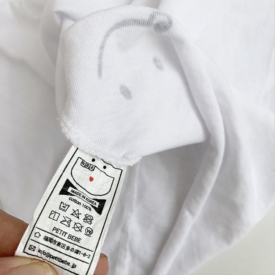 【即納商品】 PETIT BEBEオリジナル KIDS-スマイルアンバランスレイヤードタンクトップ