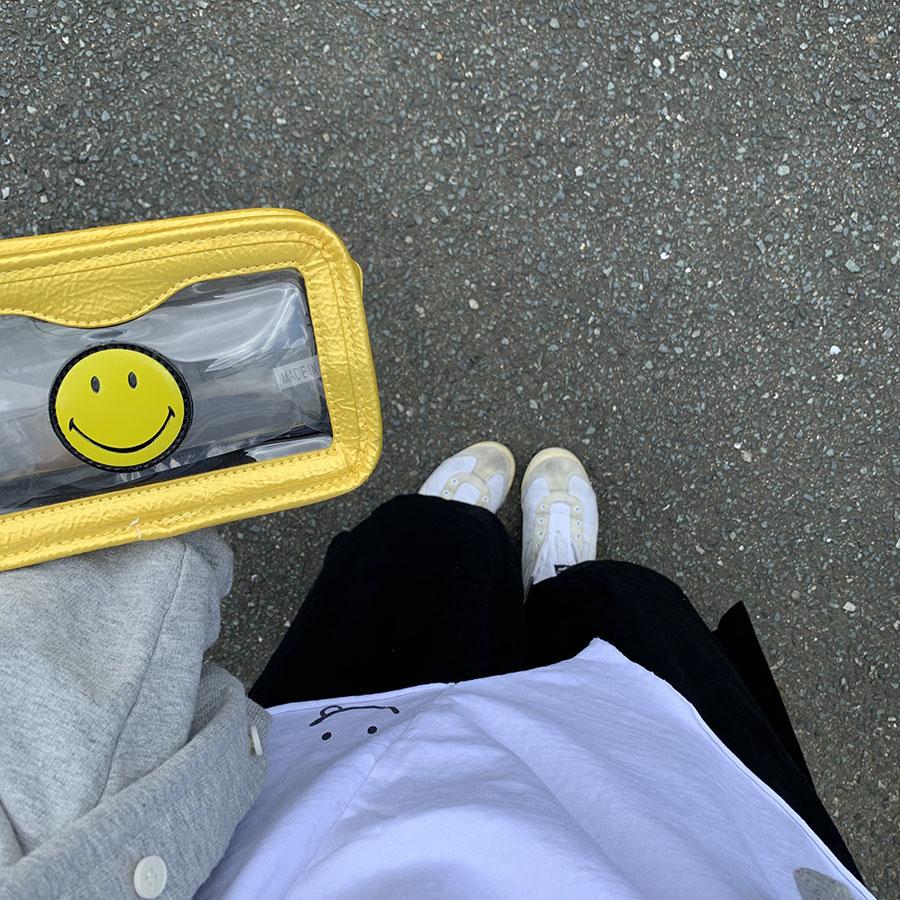 【即納商品】 PETIT BEBEオリジナル MOM-スマイルアンバランスレイヤードタンクトップ