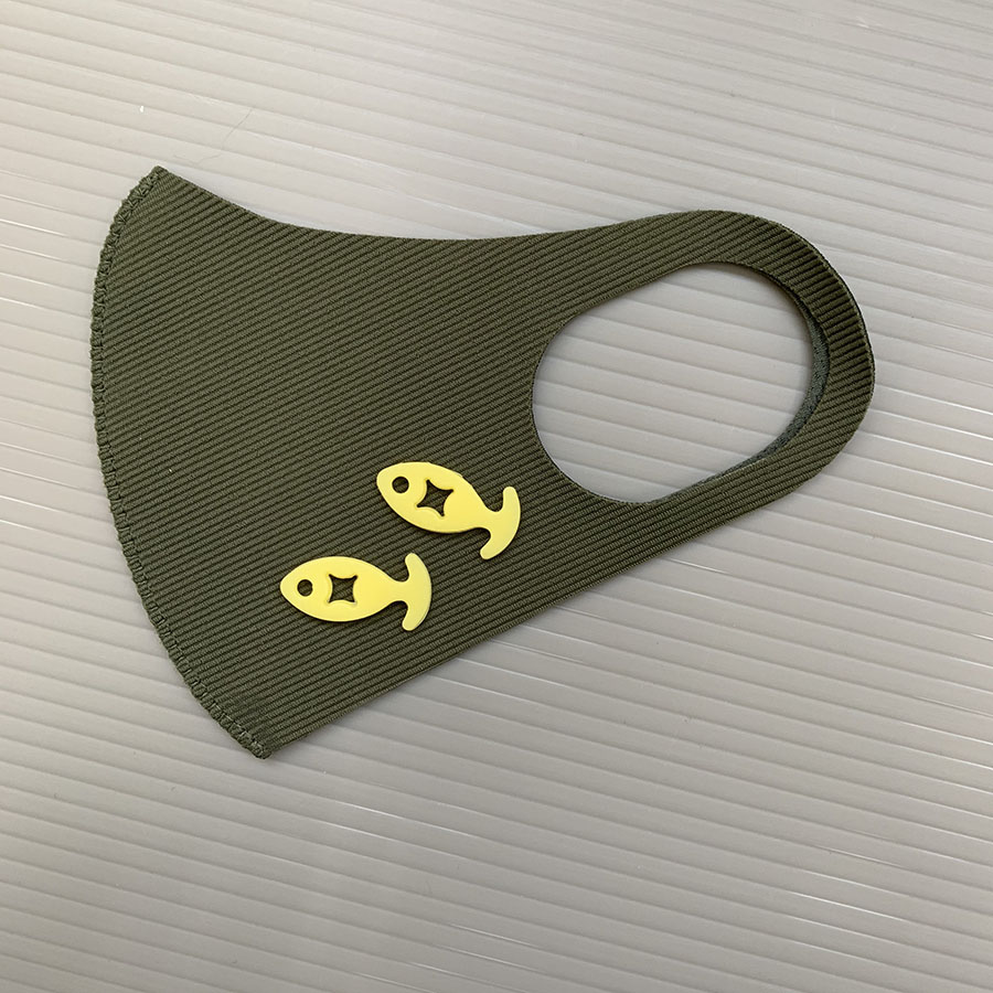 マスク調整クリップ(10個入り)
