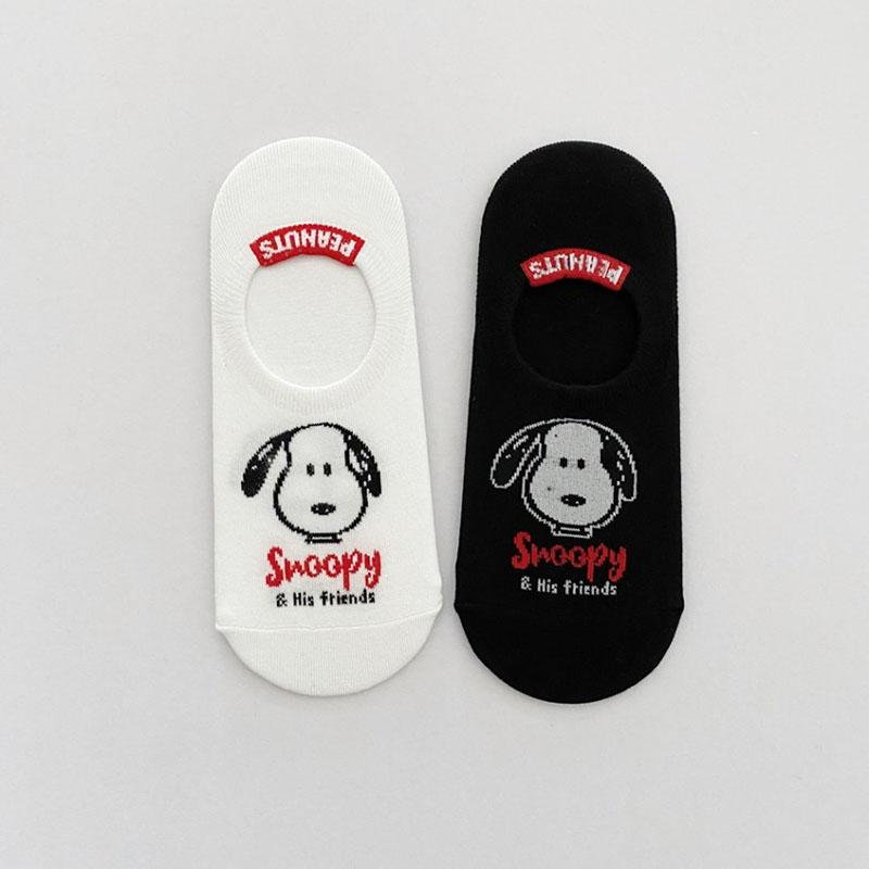 peanuts スヌーピーモノトーンソックス3足set