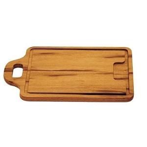 TRAMONTINA 木製手付カッティングボード 29cm(34cm)×23cm BARBECUE