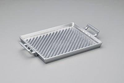 アルミ鋳物 角型グリルプレート