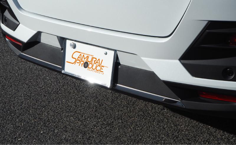 ライズ/ロッキー リアバンパーガーニッシュ 鏡面仕上げ 2P|トヨタ TOYOTA RAIZE/ダイハツ DAIHATSU ROCKY 専用 A200A A210A カスタム ドレスアップ 専用 パーツ アクセサリー オプション エアロ