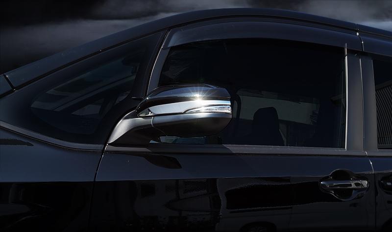 【アウトレット品】ヴォクシー80系/ノア80系/エスクァイア/ハリアー60系/ハリアー80系 サイドミラー ガーニッシュ 2P|トヨタ TOYOTA VOXY NOAH ESQUIRE カラー選択可 前期 後期対応 カスタム 専用 パーツ ドレスアップ アクセサリー オプション エアロ