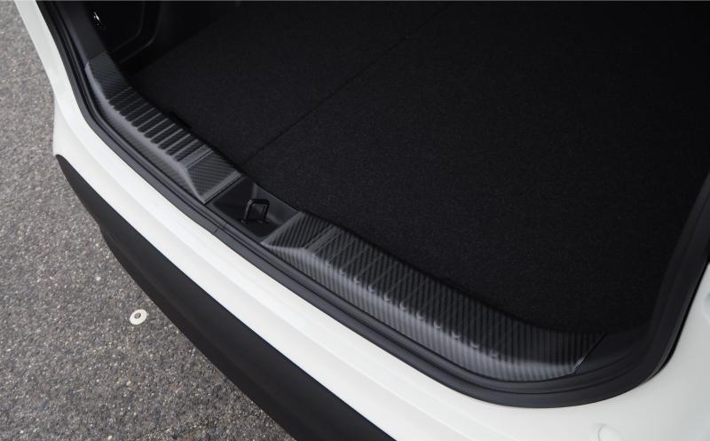 【アウトレット品】ヤリスクロス ラゲッジスカッフプレート 2P カーボン調|トヨタ TOYOTA YARISCROSS 専用 内装 保護 カスタム パーツ ドレスアップ アクセサリー オプション