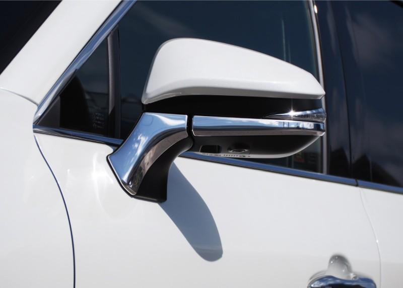新型ハリアー 80系 ミラーガーニッシュ アンダーカバータイプ 4P トヨタ TOYOTA HARRIER 80 サイドミラー TYPE � カスタム 専用 パーツ ドレスアップ アクセサリー オプション エアロ
