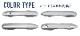《SALE》カローラスポーツ カローラツーリング 210系 ドアハンドルカバー ガーニッシュ メッキ 4P|トヨタ TOYOTA COROLLA SPORTS COROLLA TOURING カスタム 専用 パーツ ドレスアップ アクセサリー オプション エアロ