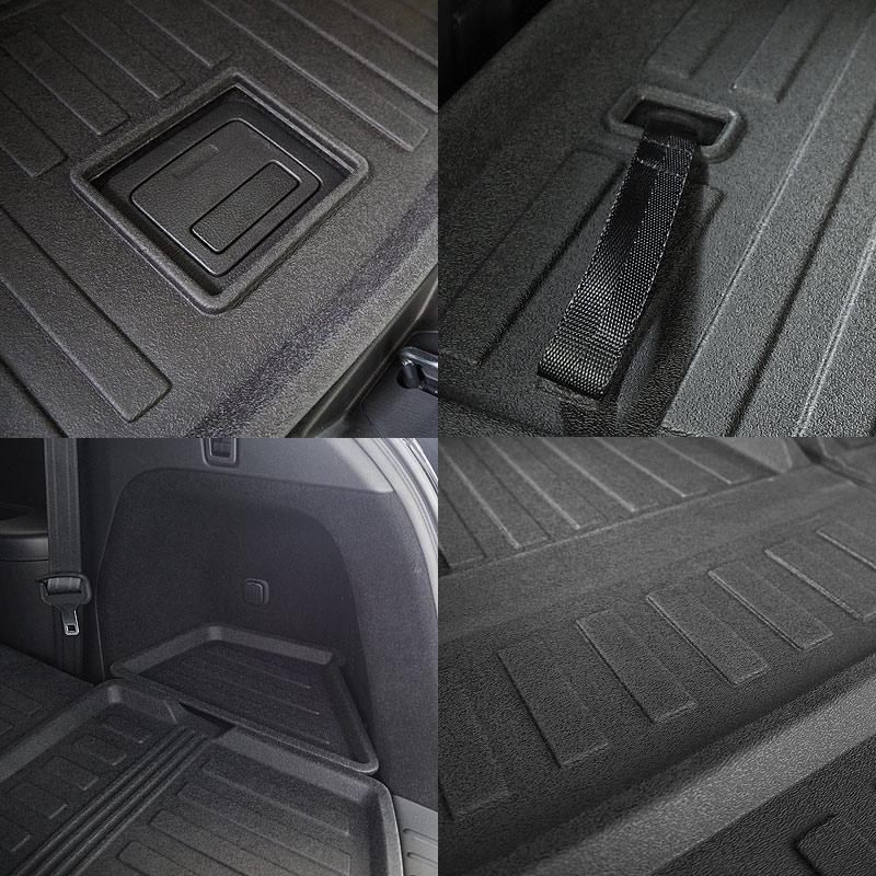 CX-8 ラゲッジトレイ ラバータイプ 5P |マツダ MAZDA CX8 KG系 カスタム パーツ ドレスアップ ラゲージ トランク 防水 防汚 保護 プロテクション トランクトレイ カスタムパーツ ドレスアップ アクセサリー アフターパーツ エアロ