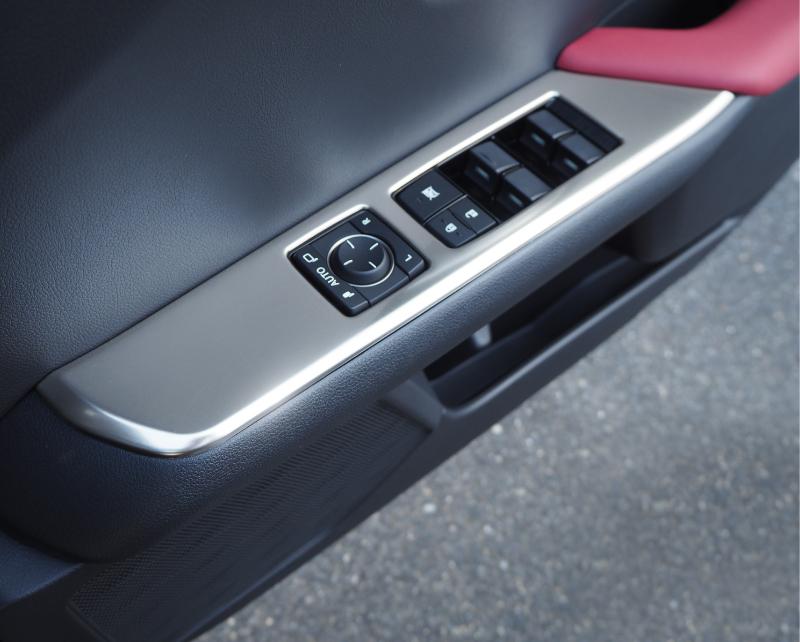 【アウトレット品】UX ウィンドウスイッチベースパネル 4P|レクサス LEXUS UX UX200 UX250h 選べる2カラー サテンシルバーメッキ 艶有りブラックヘアライン カスタム パーツ ドレスアップ アクセサリー アフターパーツ エアロ